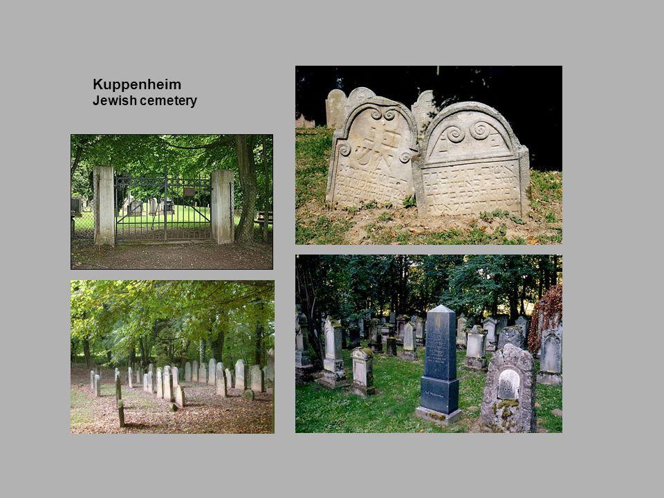 Kuppenheim Jewish cemetery