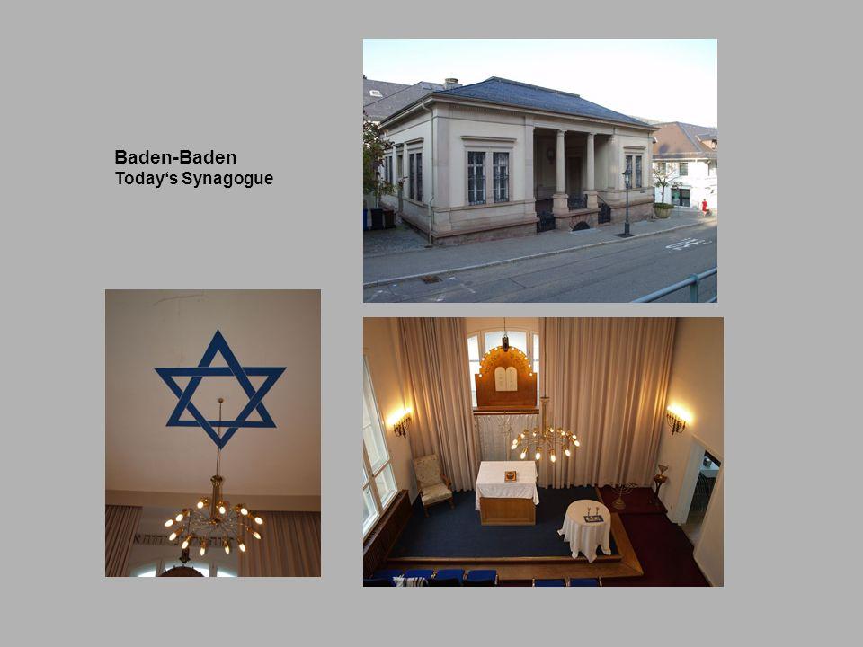 Baden-Baden Todays Synagogue