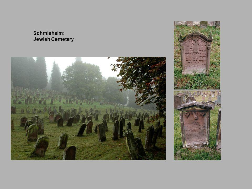 Schmieheim: Jewish Cemetery