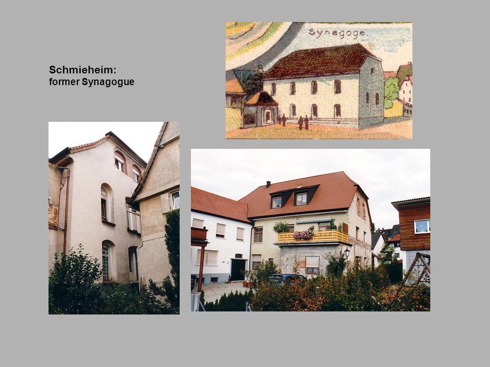 Schmieheim : former Synagogue