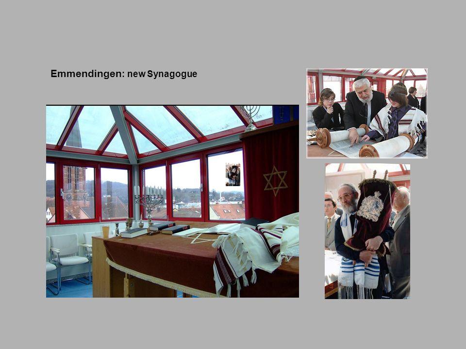 Emmendingen : new Synagogue