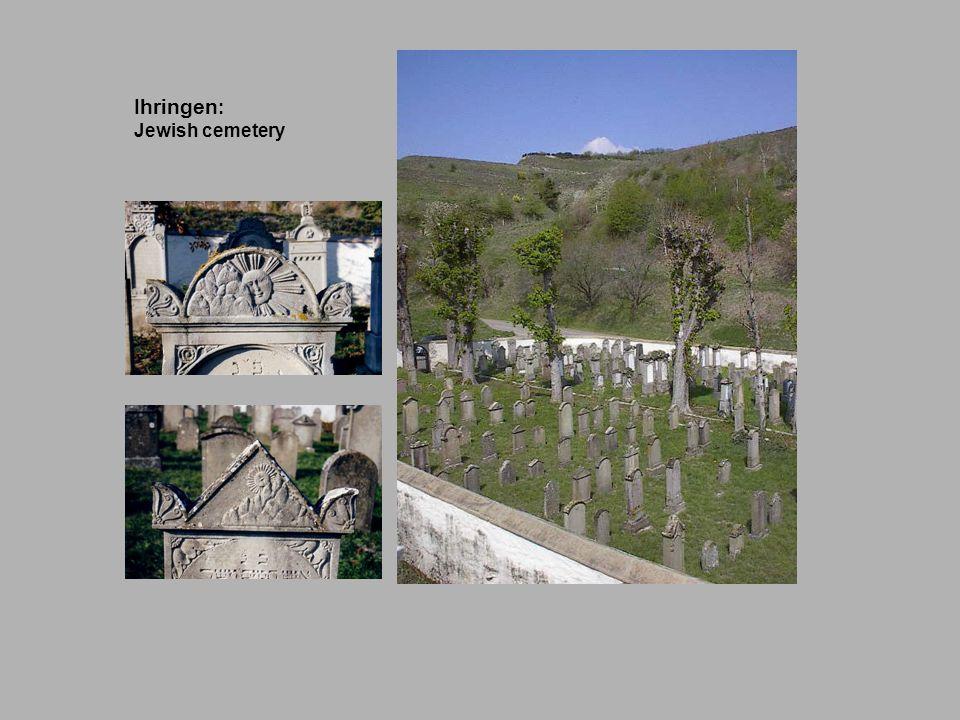 Ihringen : Jewish cemetery