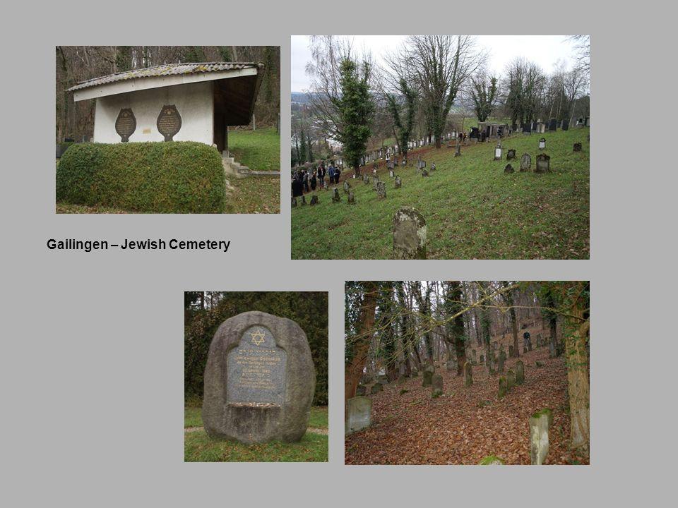 Gailingen – Jewish Cemetery
