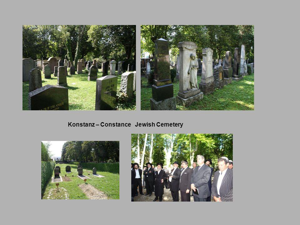 Konstanz – Constance Jewish Cemetery