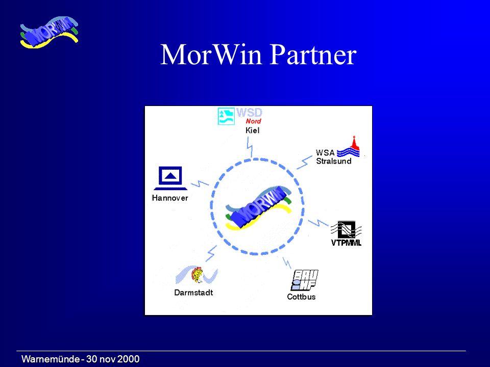 Warnemünde - 30 nov 2000 MorWin Partner