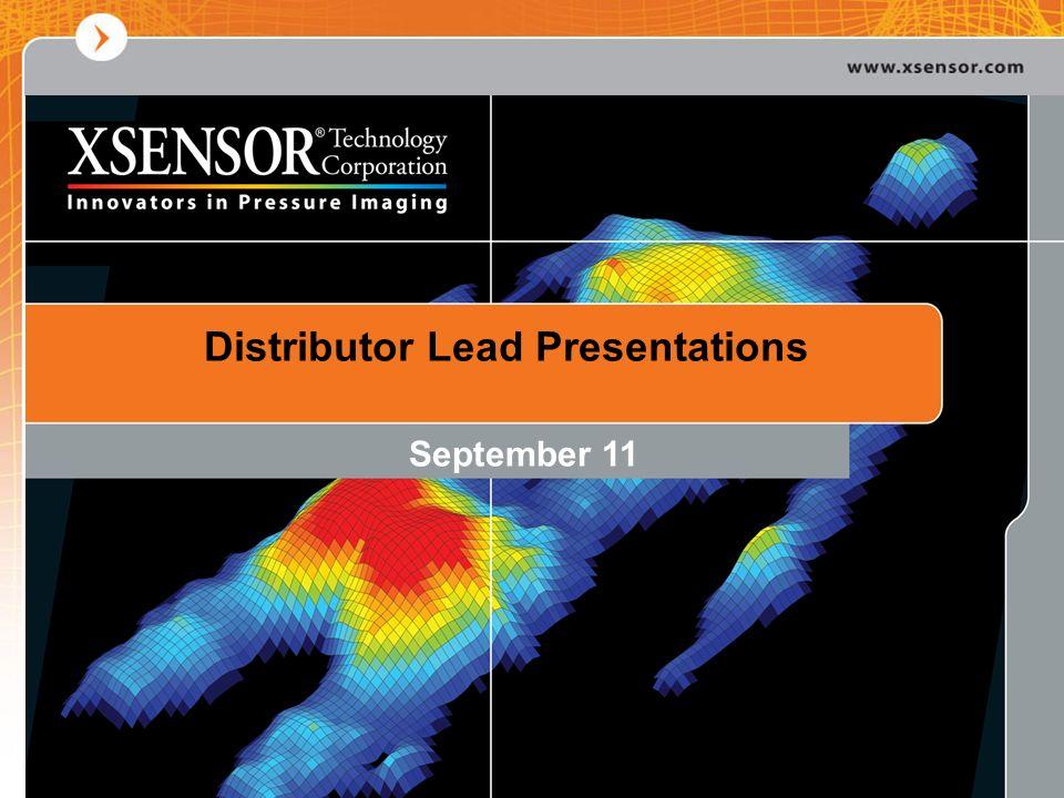 Distributor Lead Presentations September 11