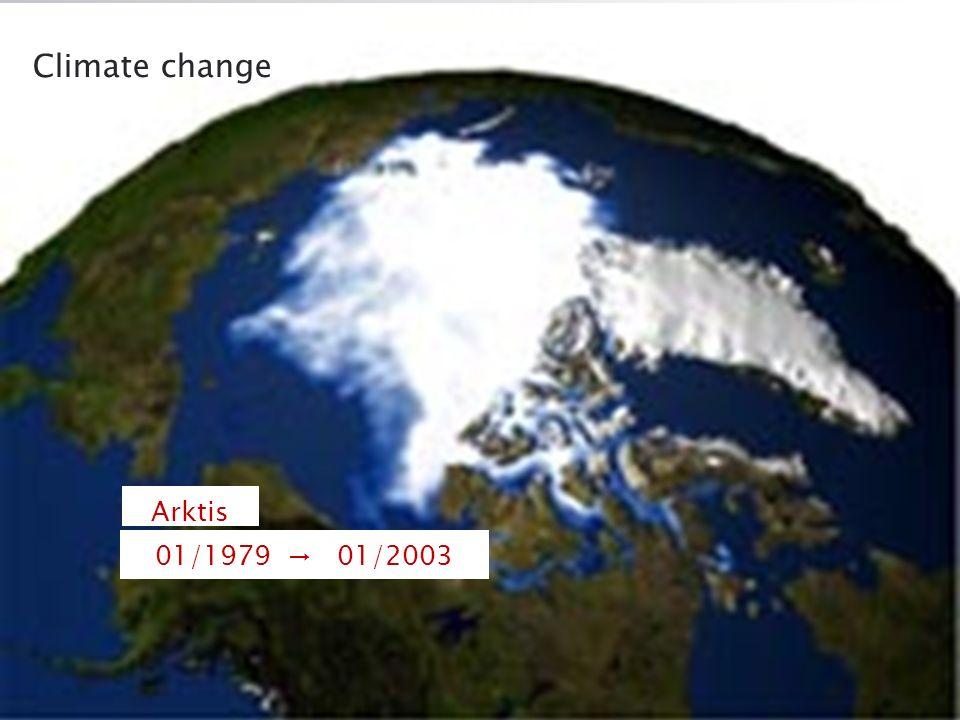 01/1979 01/1979 01/2003 Arktis Climate change