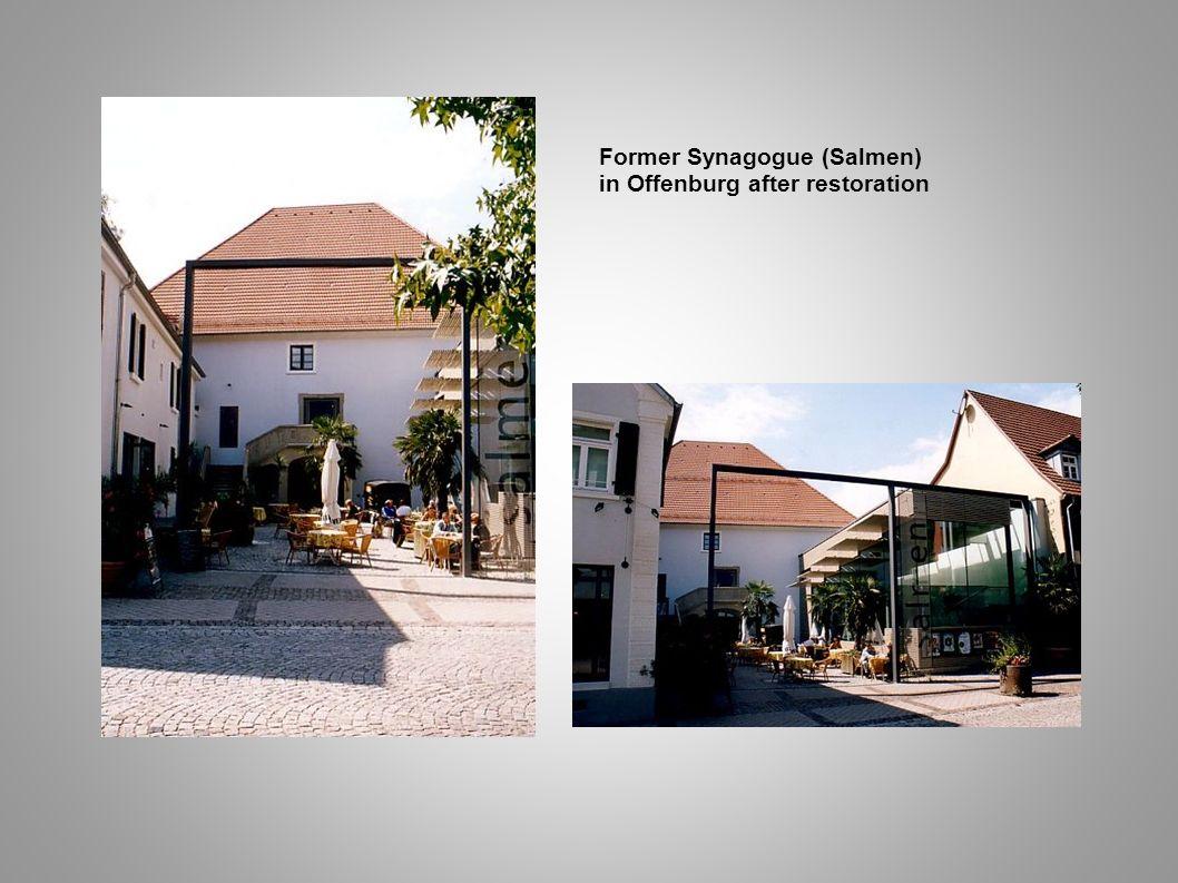 Former Synagogue (Salmen) in Offenburg after restoration