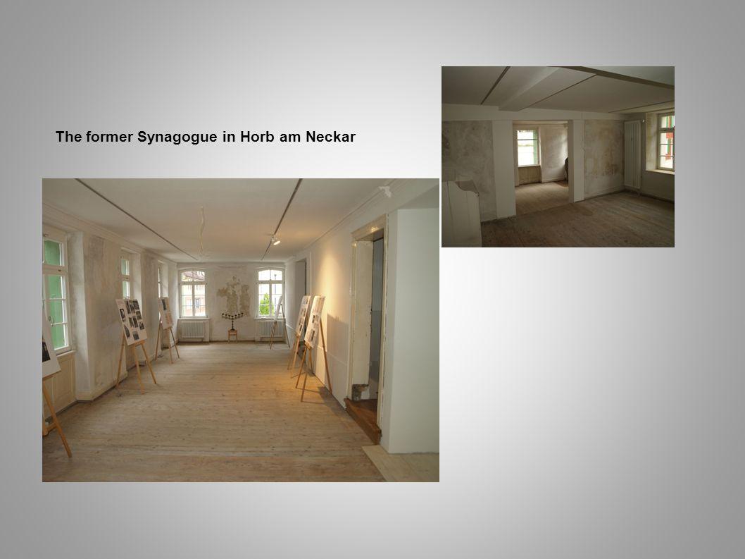 The former Synagogue in Horb am Neckar
