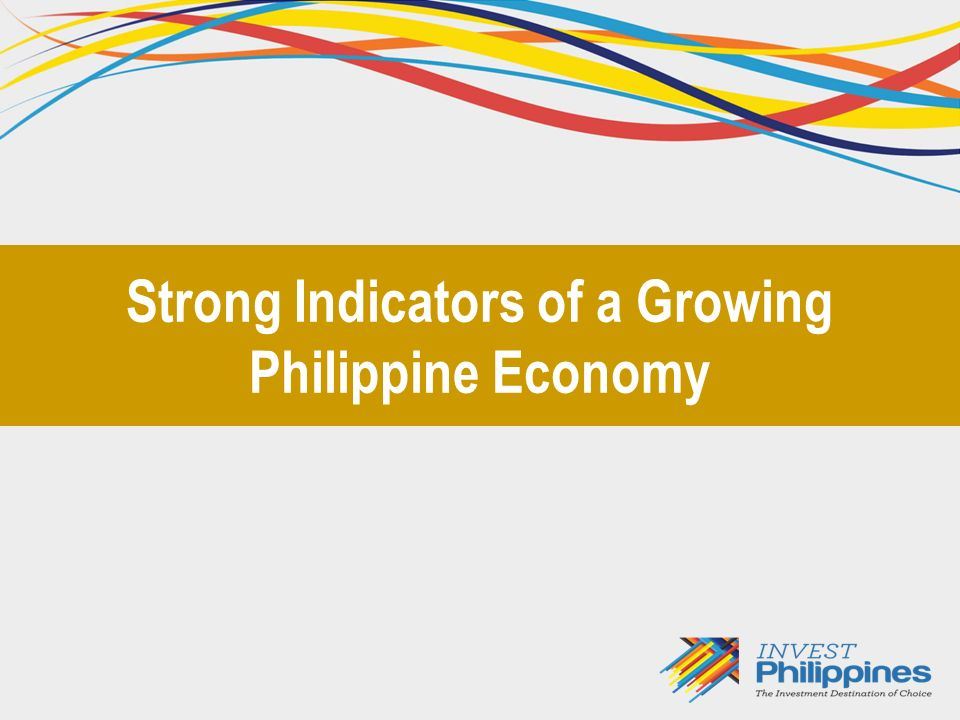 Philippines = 4.07% YTD Strongest performing stock market in Asia in 2011 Source: Presentation of Dr.