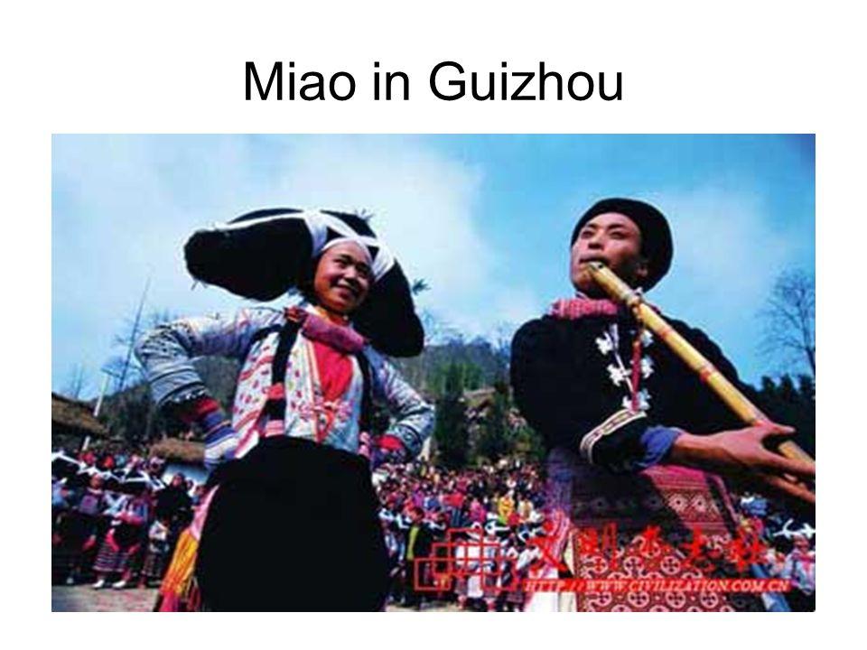 Miao in Guizhou