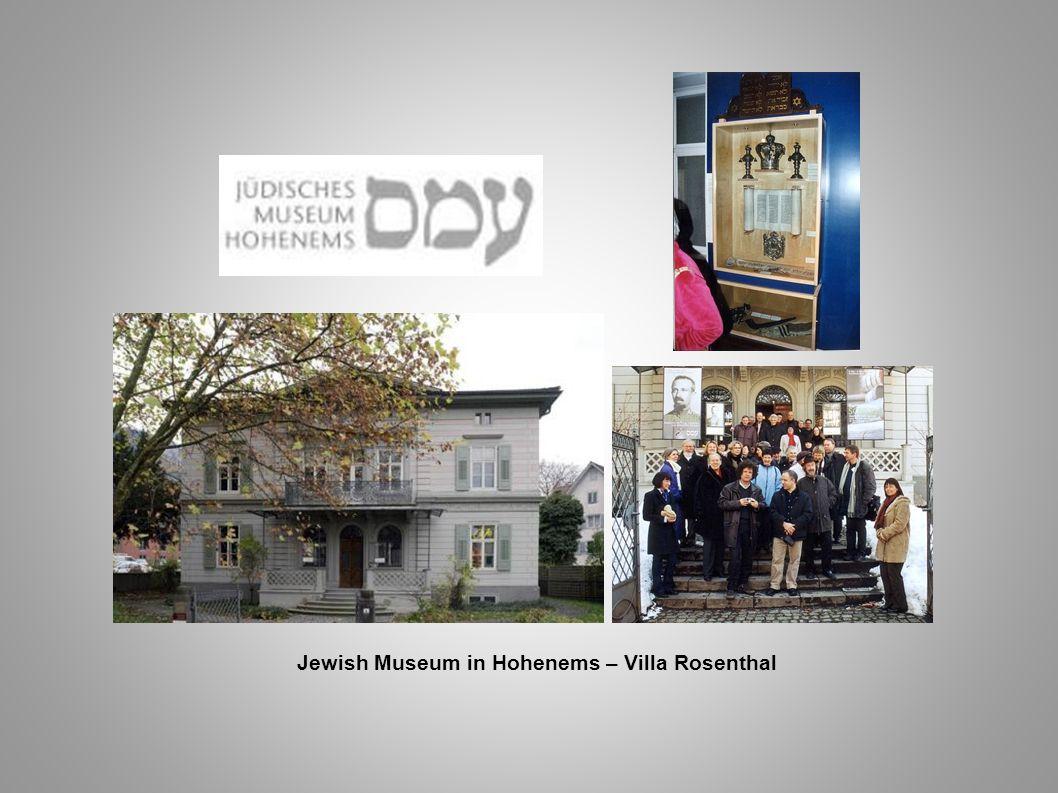 Jewish Museum in Hohenems – Villa Rosenthal