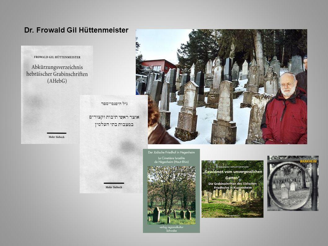 Dr. Frowald Gil Hüttenmeister
