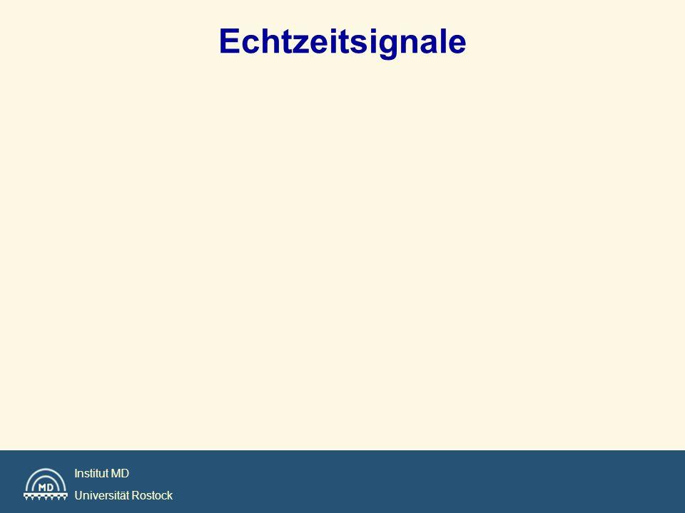 Institut MD Universität Rostock Echtzeitsignale