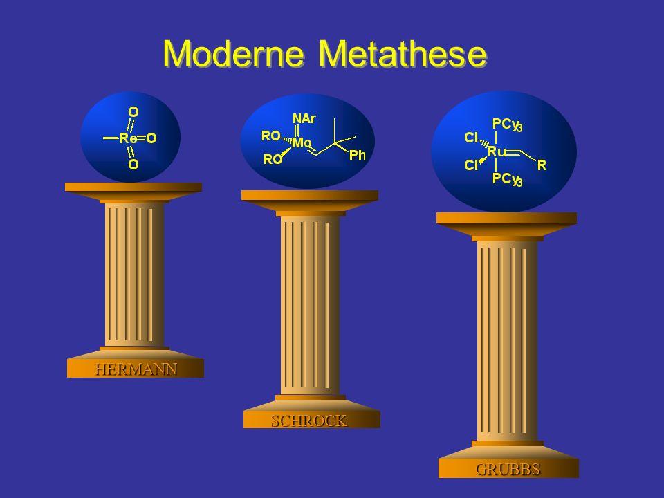 Moderne Metathese HERMANN SCHROCK GRUBBS
