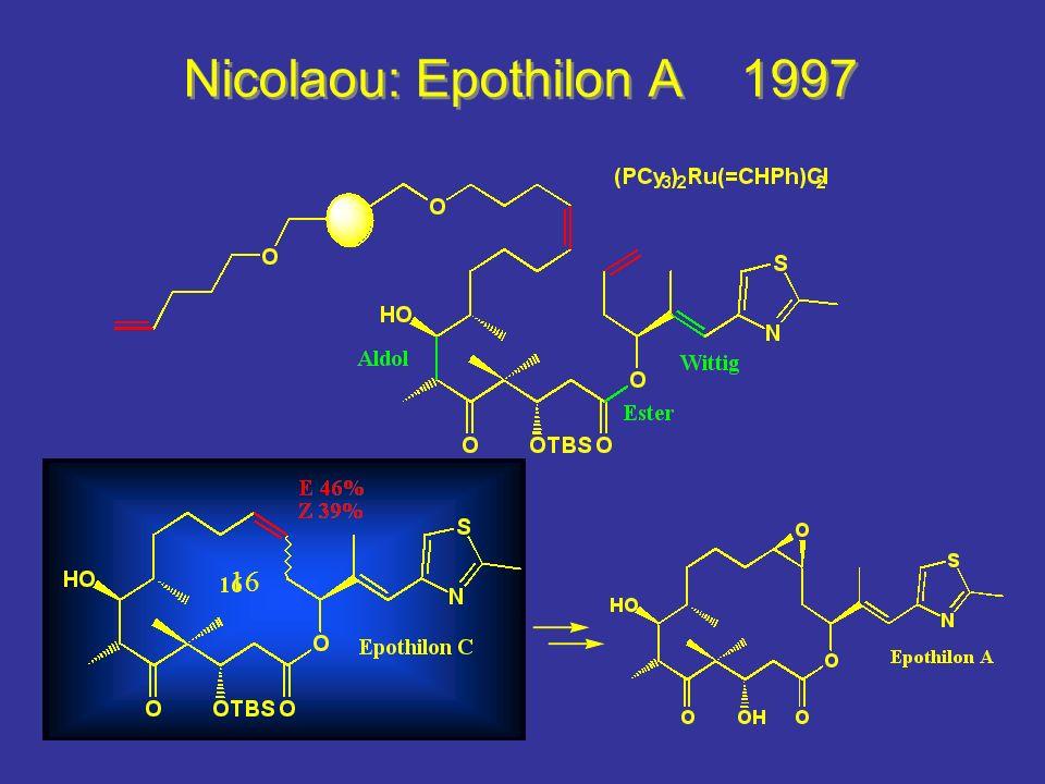Nicolaou: Epothilon A 1997 16 Wittig