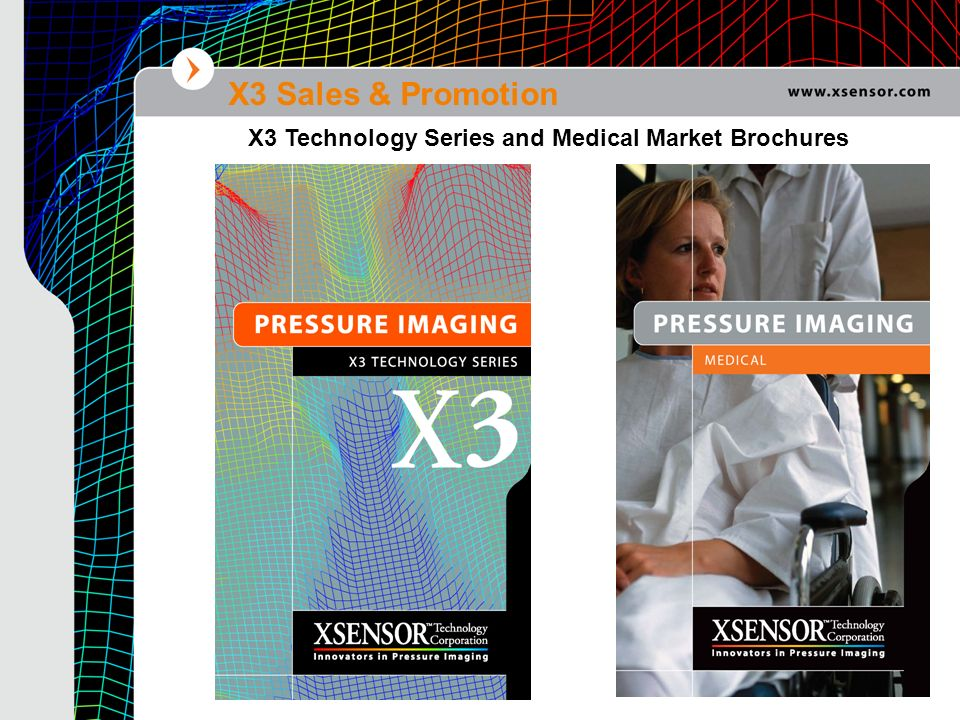 X3 Sales & Promotion X3 Technology Series and Medical Market Brochures