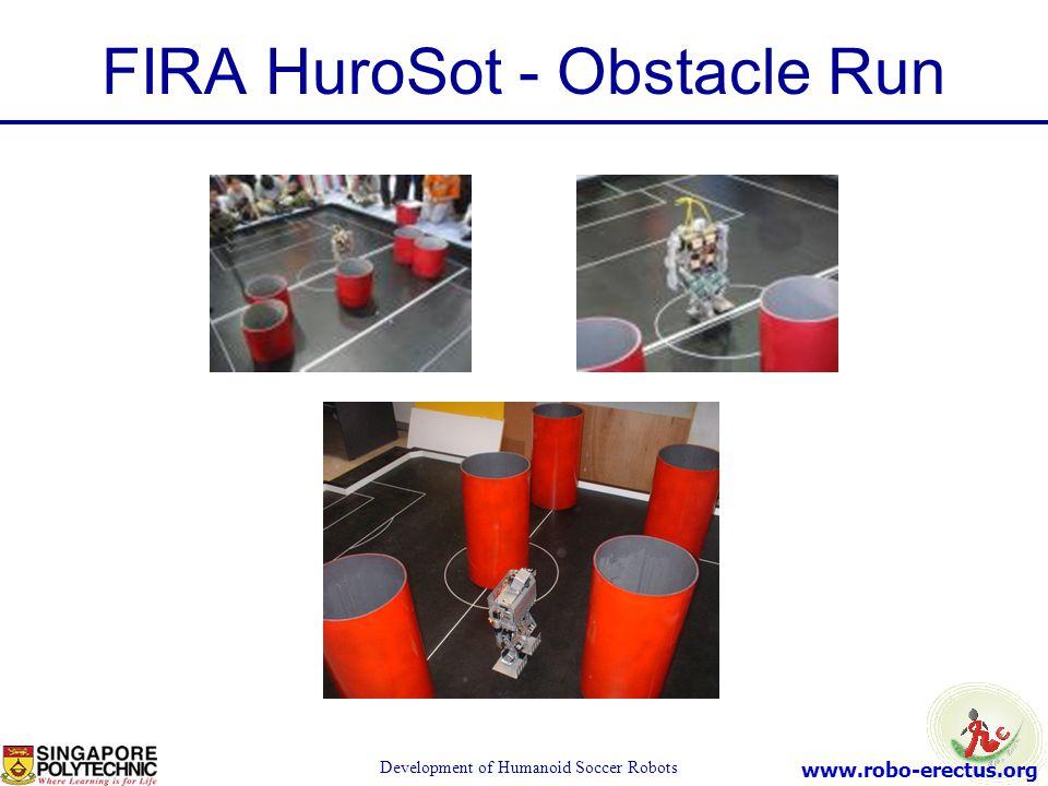 www.robo-erectus.org Development of Humanoid Soccer Robots FIRA HuroSot - Obstacle Run