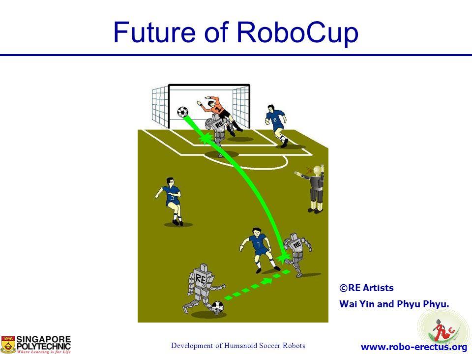 www.robo-erectus.org Development of Humanoid Soccer Robots Future of RoboCup ©RE Artists Wai Yin and Phyu Phyu.