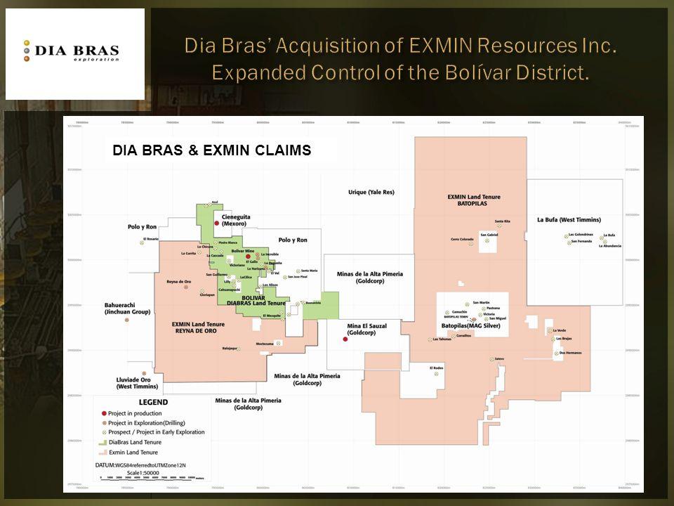 DIA BRAS & EXMIN CLAIMS