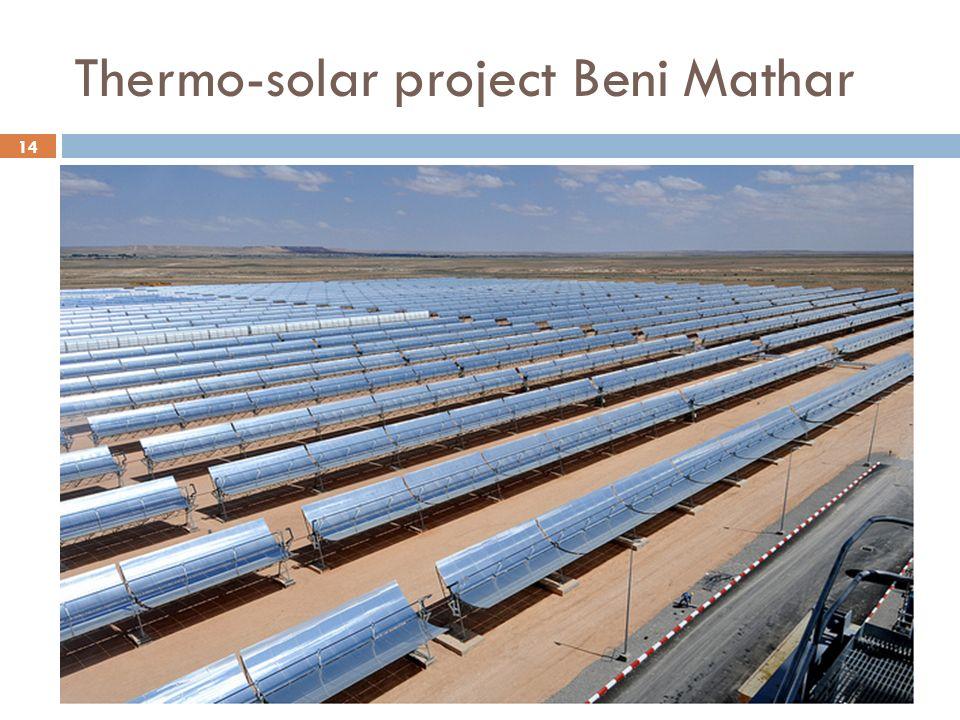 14 Thermo-solar project Beni Mathar