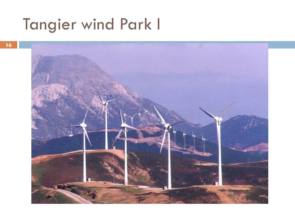 16 Tangier wind Park I