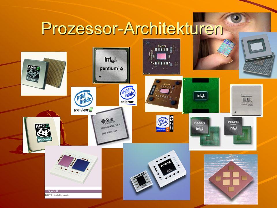 Prozessor-Architekturen