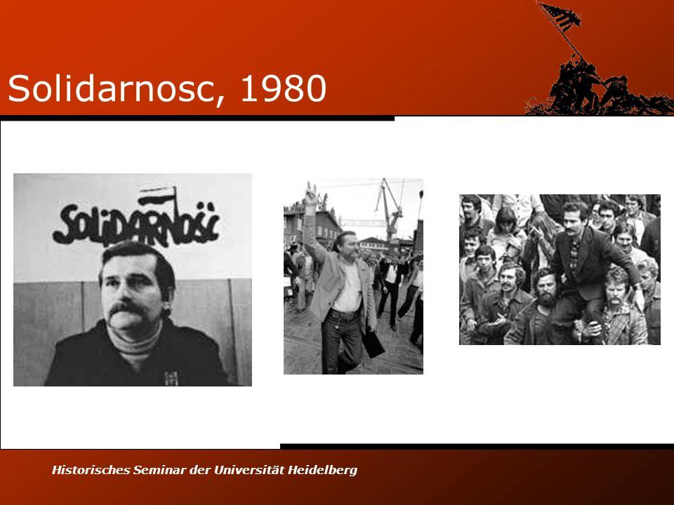 Historisches Seminar der Universität Heidelberg Solidarnosc, 1980