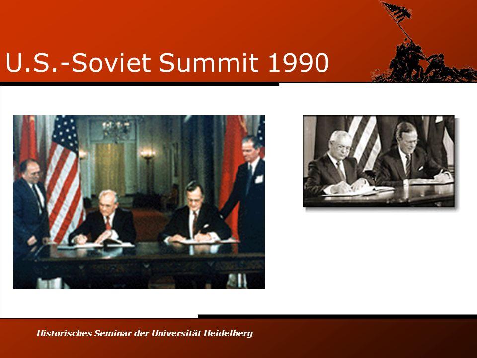 Historisches Seminar der Universität Heidelberg U.S.-Soviet Summit 1990