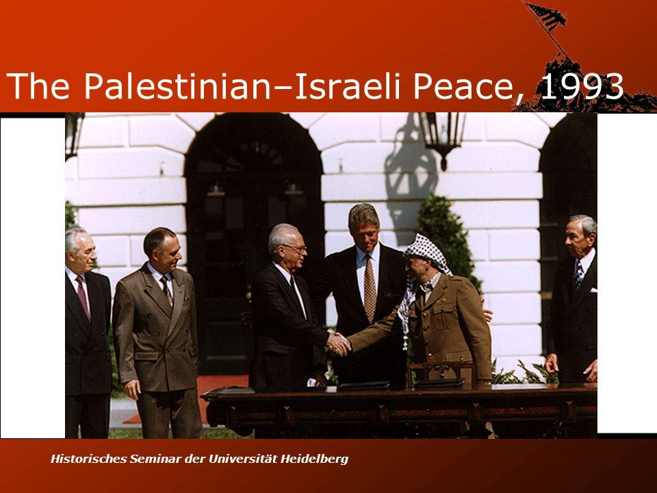 Historisches Seminar der Universität Heidelberg The Palestinian–Israeli Peace, 1993