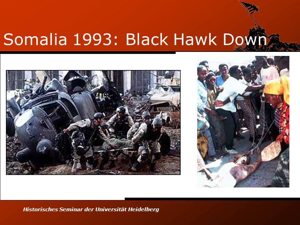 Historisches Seminar der Universität Heidelberg Somalia 1993: Black Hawk Down
