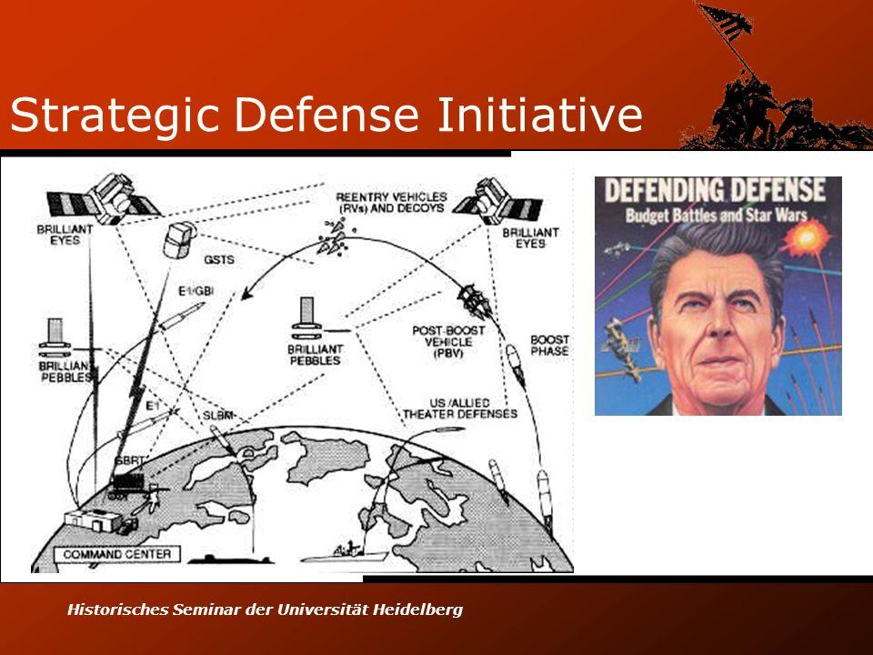 Historisches Seminar der Universität Heidelberg Strategic Defense Initiative
