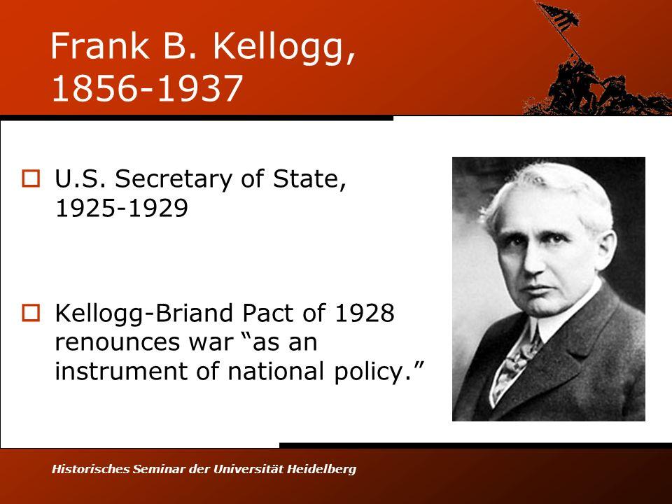 Historisches Seminar der Universität Heidelberg Frank B.