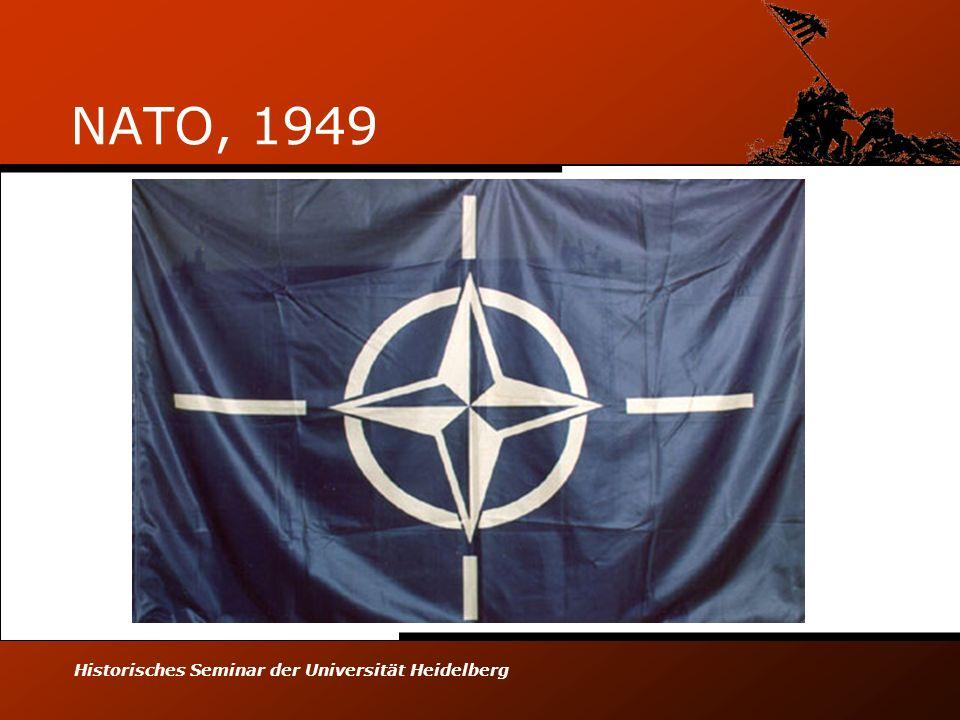 Historisches Seminar der Universität Heidelberg NATO, 1949