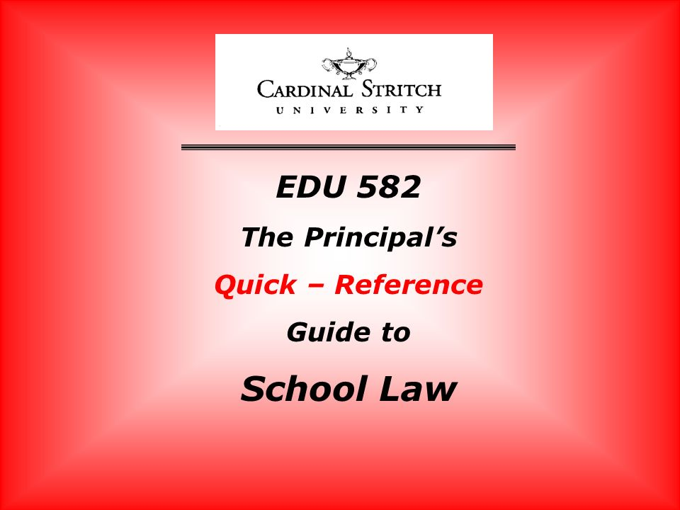 Chapter 2 – School And the Legal Environment 9.Desegregation Brown vs.