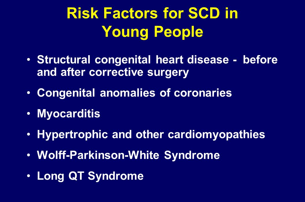 Sudden Cardiac Death (SCD) Affects 350,000 - 400,000 each year in the US alone Only 5% of victims survive Causes of SCD may include structural heart d