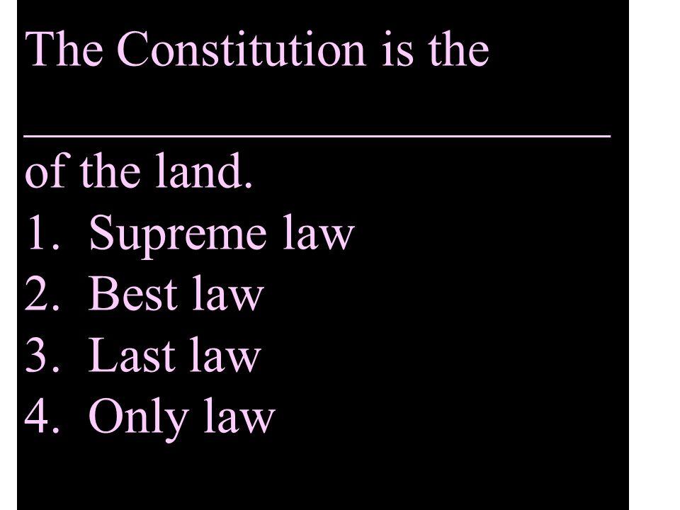 Which federal court has a jury? 1.Supreme court 2.District court 3.Circuit court 4.Juvenile court
