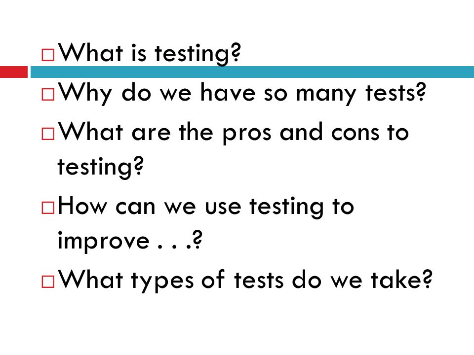 Controlling the use of Psychological Tests cont..