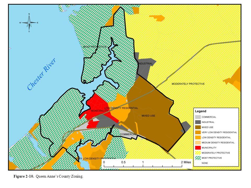 Figure 2-10. Queen Annes County Zoning.