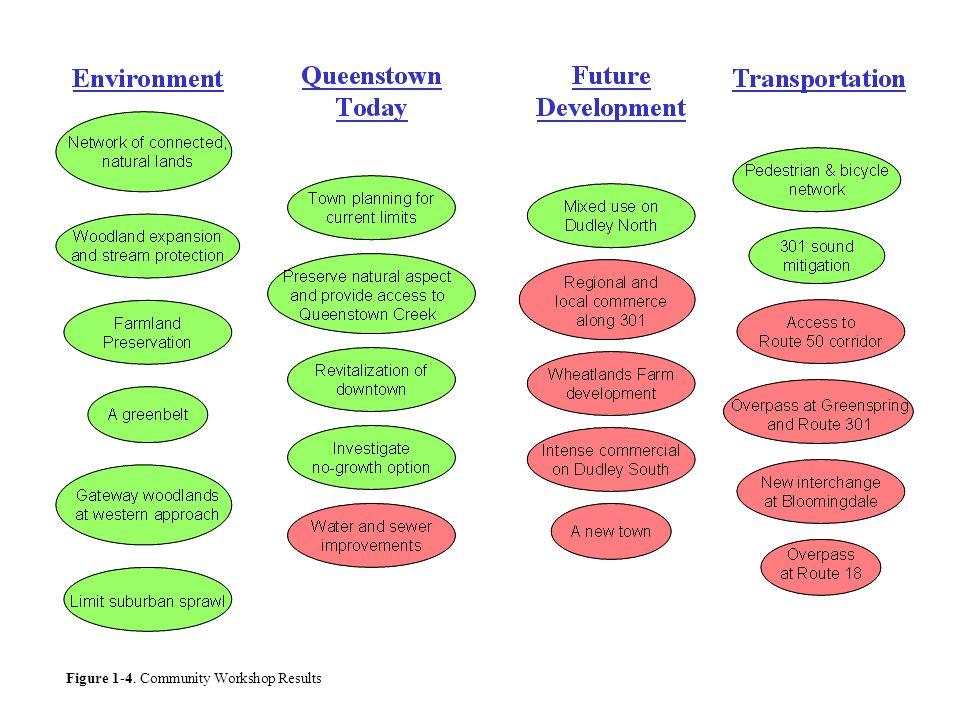 Figure 1-4. Community Workshop Results