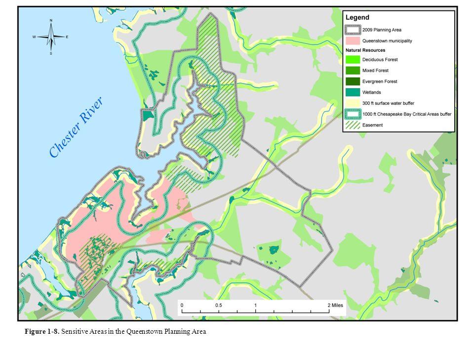 Figure 1-8. Sensitive Areas in the Queenstown Planning Area