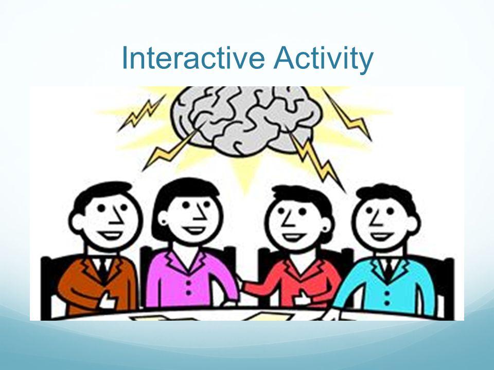 Interactive Activity