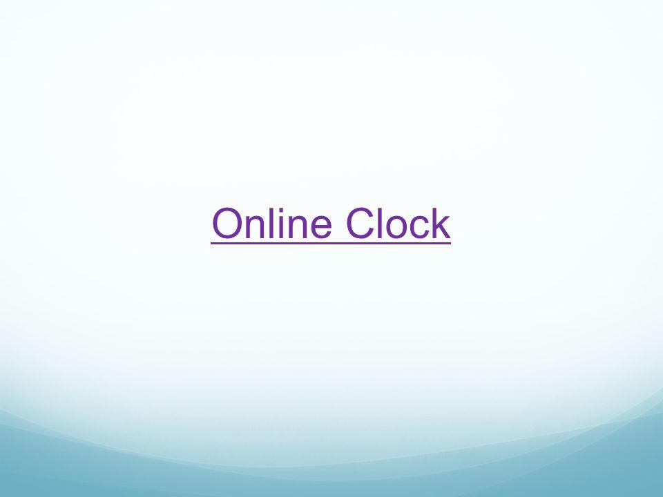 Online Clock