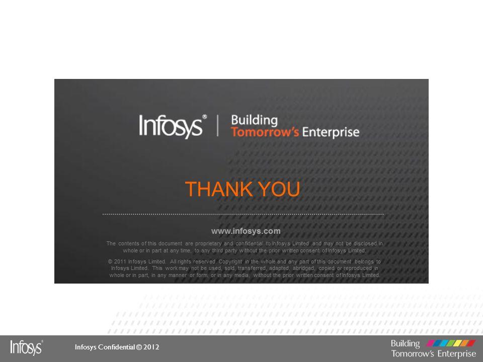 Infosys Confidential © 2012