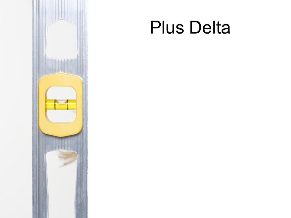 Plus Delta
