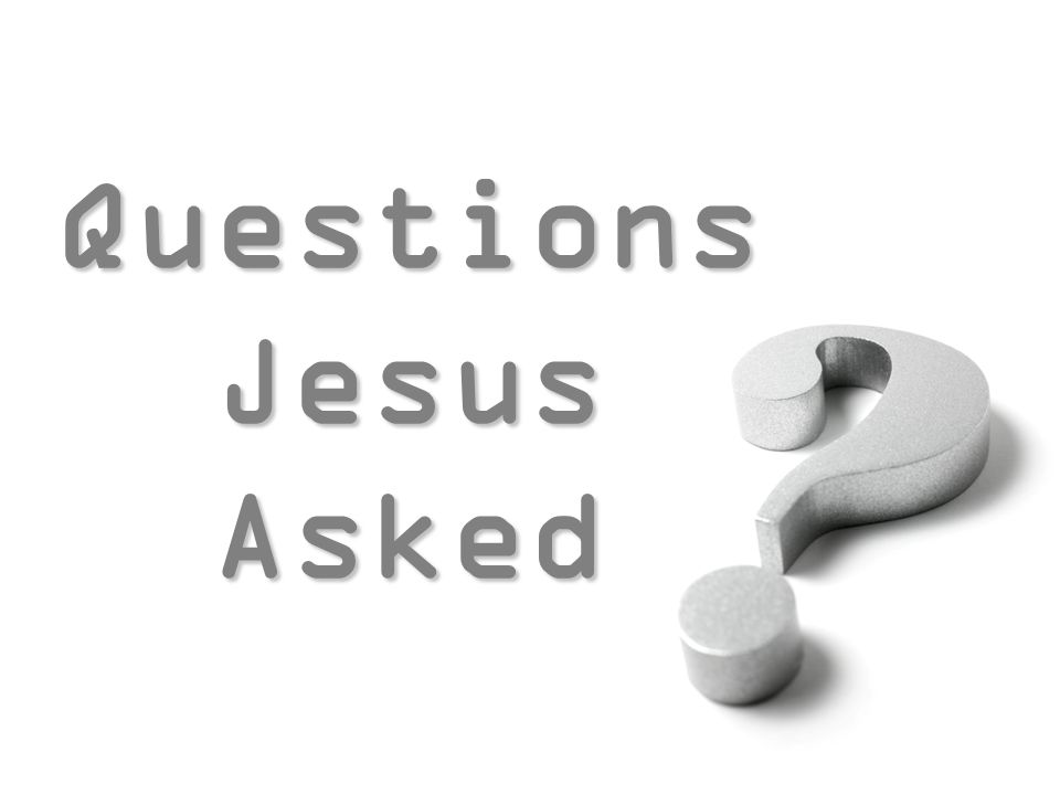 Questions Jesus Asked Questions Jesus Asked