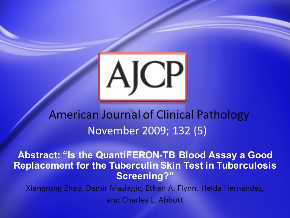 November 2009; 132 (5) American Journal of Clinical Pathology Abstract: Relative Quantity of Cerebrospinal Fluid Herpes Simplex Virus DNA in Adult Cases of Encephalitis and Meningitis Robert F.