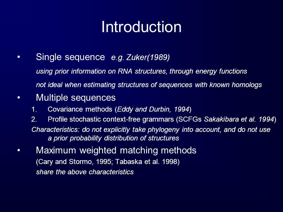 Conclusion Limitations Inability to predict pseudoknots.