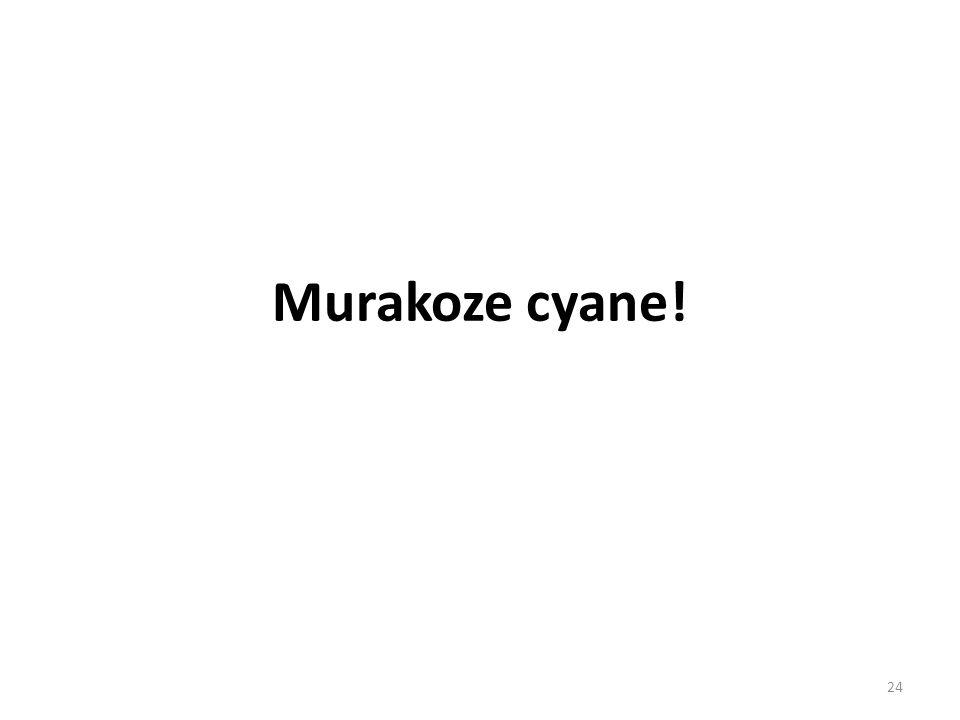 Murakoze cyane! 24