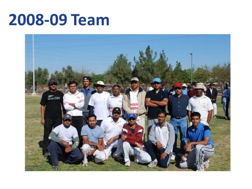 2008-09 Team